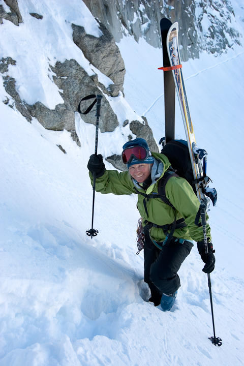 Kathy Cosley on the Haute Route