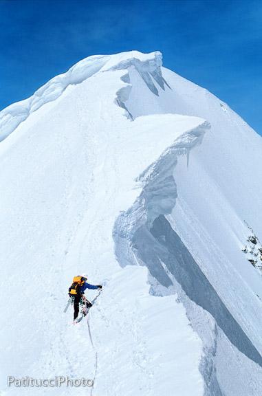 Alpine Climbing - Monch