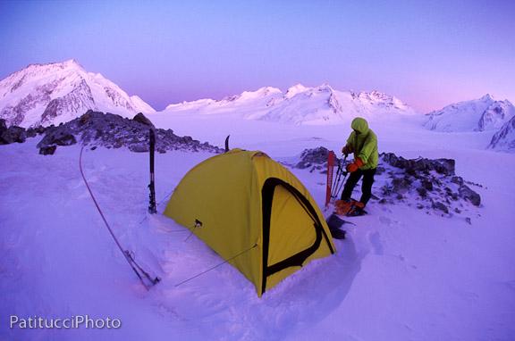 Alpine Sunrise - Basecamp