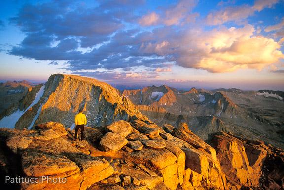 Mt. Mendel Summit Sunset